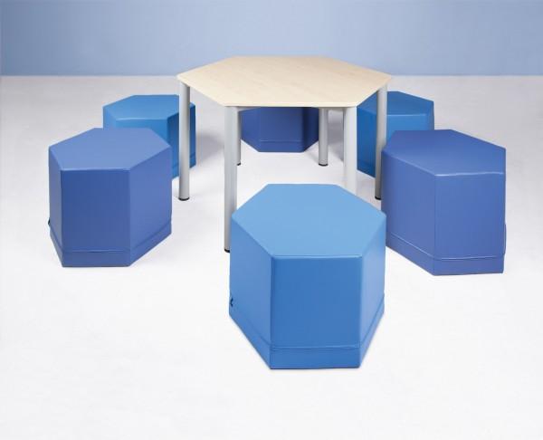 """Sechseck-Tisch """"SIX"""""""