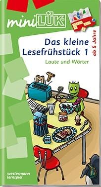 """miniLük Übungsheft """"Das kleine Lesefrühstück 1"""""""