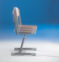 Aluflex Schülerstuhl, höhenverstellbar