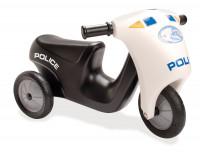 Rutschfahrzeug - Polizei-Motorrad mit drei Rädern für Kinder