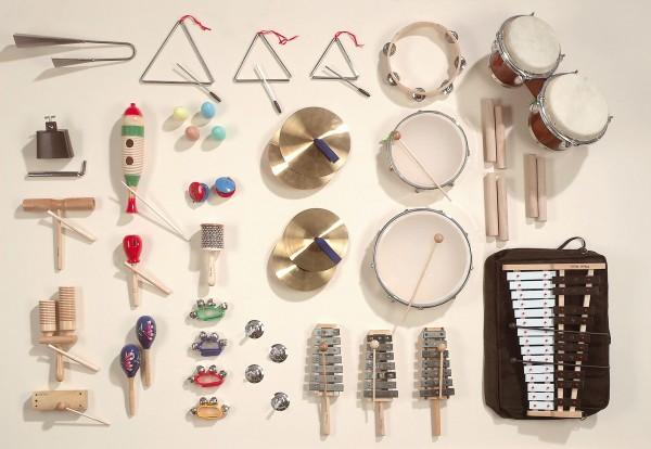 """Instrumentensatz """"MUS 3"""" mit 36 Instrumenten"""