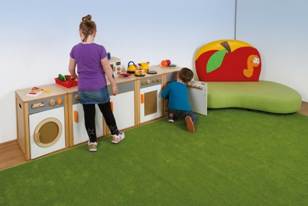 Kinderküche Herd-Backofen