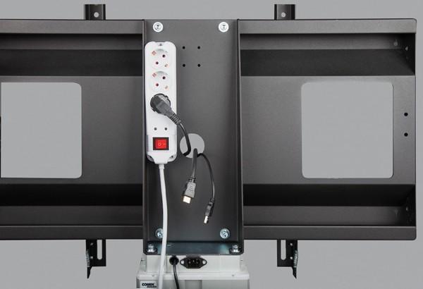 Montagevorbereitung für Mehrfachsteckdosen
