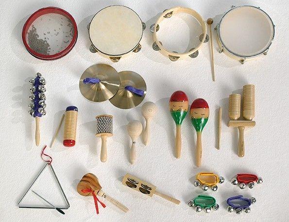 """Musikset """"MUS 21"""" - mit 18 verschiedenen Musikinstrumenten"""