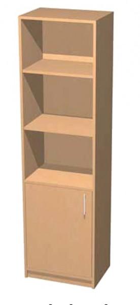 Personalschrank mit abschließbarer Tür oder 4 Schubkästen