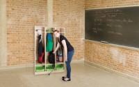 Schultaschenregal für 3 Schüler, inkl. 3 ErgoTray Boxen