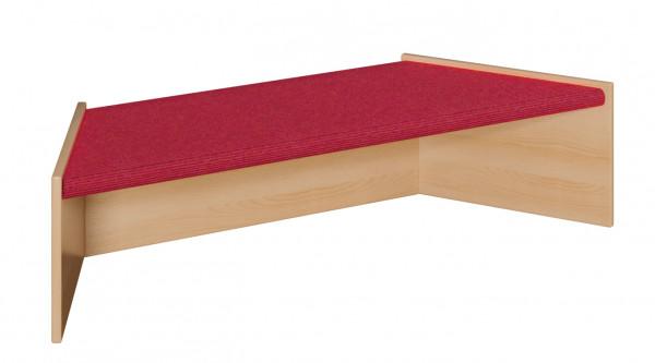 Podest mit Tretford-Teppich - Trapez 2 Größen