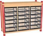 Sideboard mit 9 oder 18 nBoxen