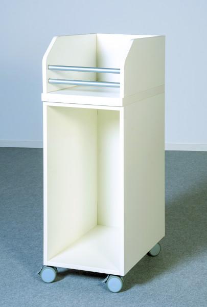 Utensilienwagen für Wickelkommoden, fahrbar oder feststehend