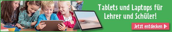 Tablets und Laptops