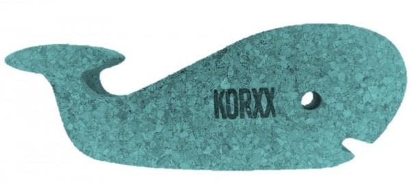 KORXX, der schwimmende Wal - Spielfigur aus Kork