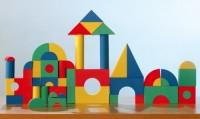 FormCube mini, Moosgummi Spielsteine