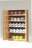 Sportschrank zur Ballaufbewahrung