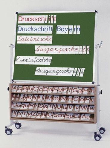 Buchstabensatz Druckschrift