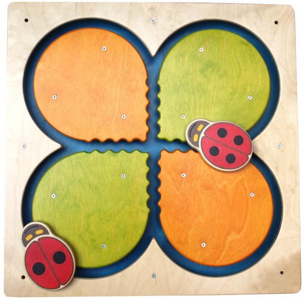 Wandspiele Blatt & Schmetterling