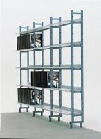 Bücherregal, einseitig