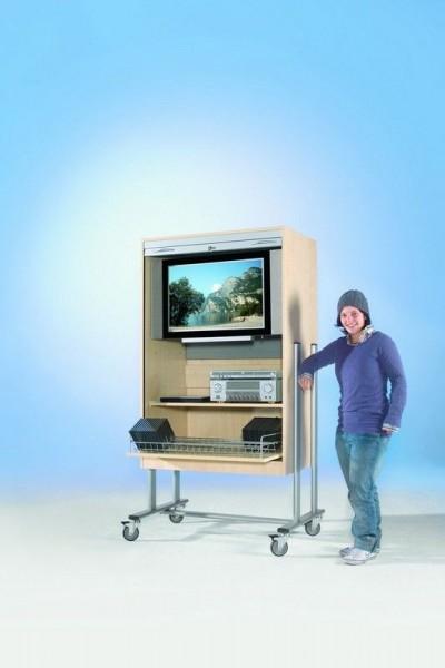TV-Rolloschrank für Flachbildschirme