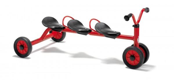 MINI Rutsch Dreirad für drei