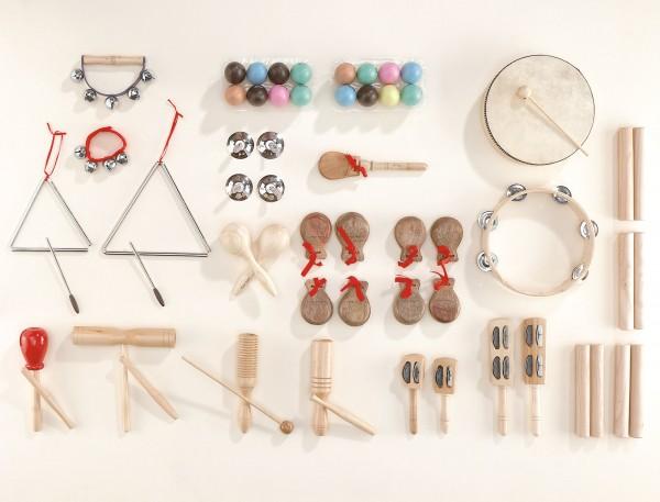 Rhythmik Set 3 - Großes Musikinstrumenten Set