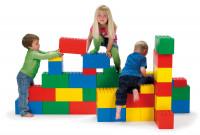 Riesenbausteine für Kinder 26 tlg. - verschiedene Farben