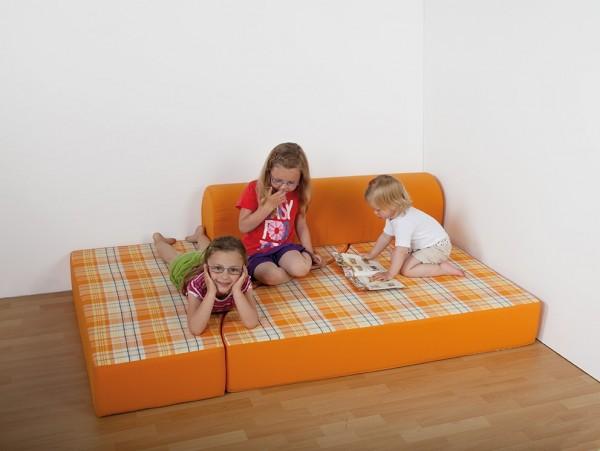 Ersatzbezug für Bett-Sofa, Kunstleder