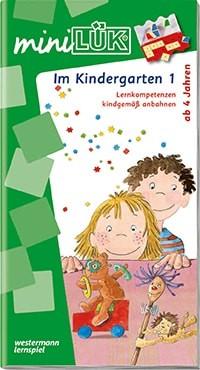 """miniLÜK Übungsheft """"Im Kindergarten 1 + 2"""""""