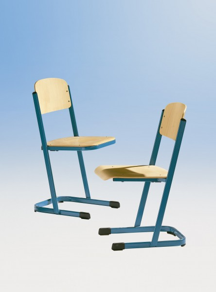 Schülerstuhl, U-Form