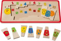 Legepuzzle- Zahlenraupe