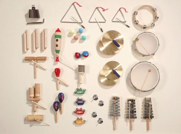 """Instrumentensatz """"MUS 2"""" mit 33 Instrumenten"""