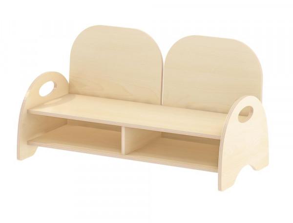 Kinder-Sitzbank mit Armlehne