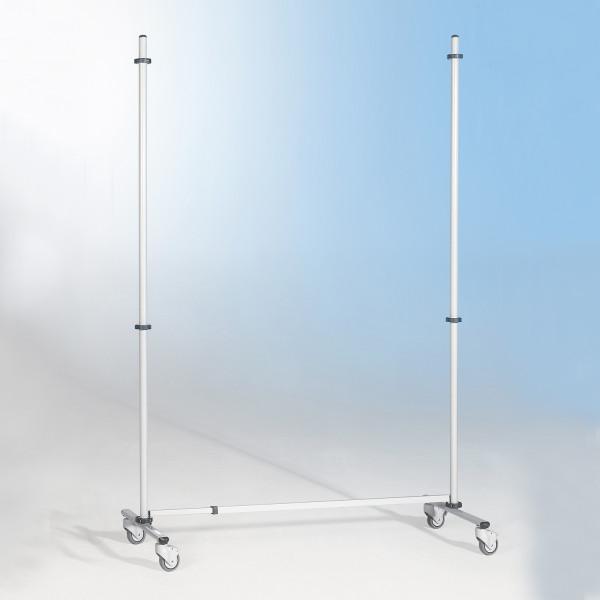Rollstativ für Stecktafeln (Schutzwand)