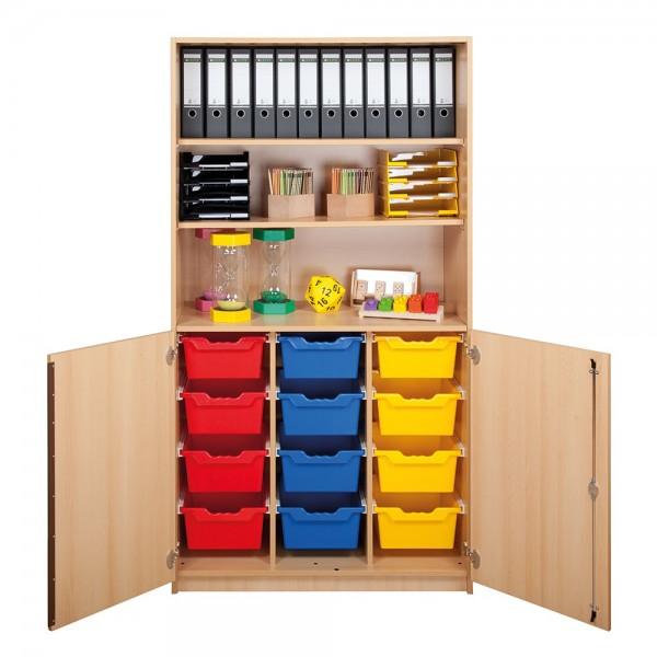 ErgoTray Schrank mit 12 oder 24 Boxen