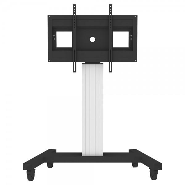 Fahrbarer Displayständer mit V-Fahrgestell