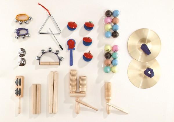 """Rhythmik-Set 2"" - Großes Musikinstrumenten Set"