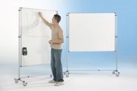 Fahrbare Tafel in weiß, verschiedene Größen
