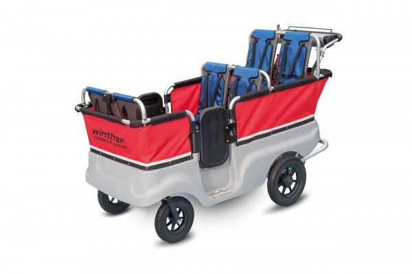E-Turtle Kinderbus Basic für 4 oder 6 Kinder