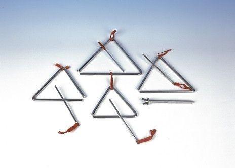 Triangel, verschiedene Größen