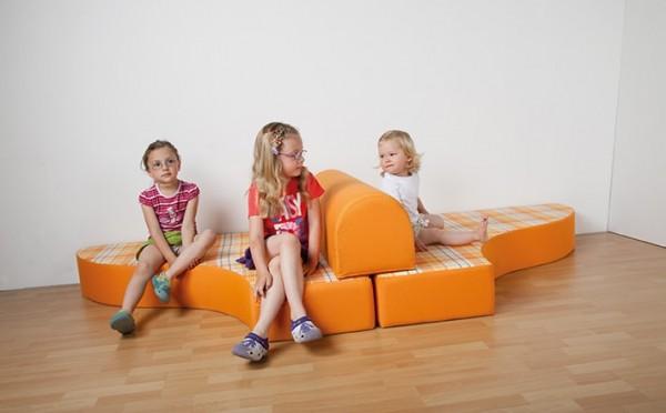Ersatzbezug für Bett-Sofa, Stoffbezug