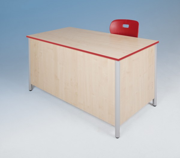 """Lehrertisch """"Modern"""" mit Verkleidung (ohne Unterbau)"""