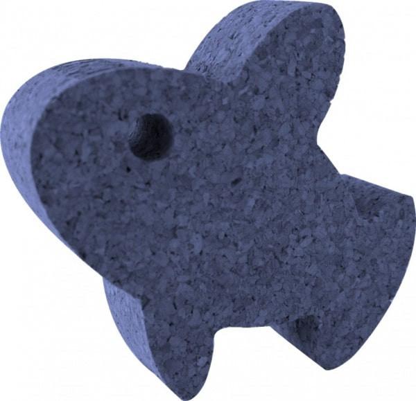 KORXX, der schwimmende Fisch - Spielfigur aus Kork