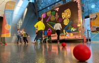 MultiBall - interaktive Spielewand