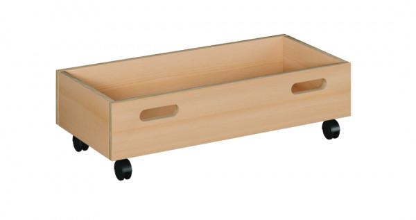 Rollkasten für Podeste mit Tretford-Teppich