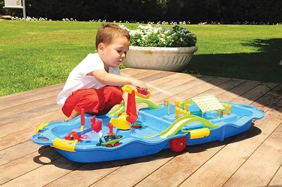 Wasser-Spaß-Trolley