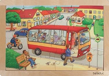 """Rahmenpuzzle """"Stadt"""""""