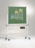 Fahrbare Tafel in grün, verschiedene Größen
