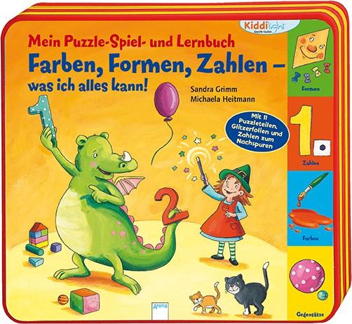 Mein Puzzle-Spiel- und Lernbuch: Farben, Formen, Zahlen – was ich alles kann